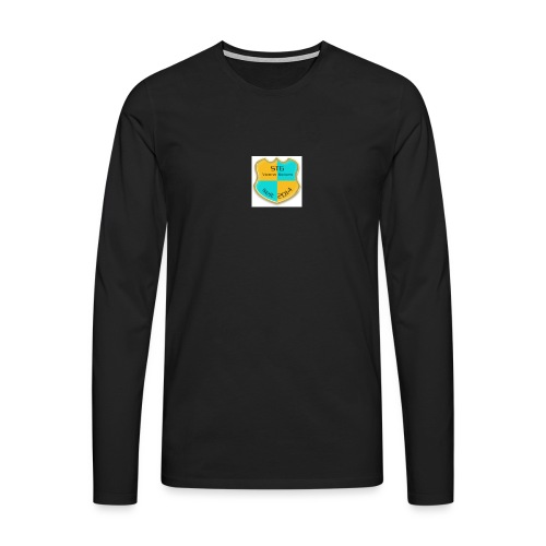 STG Vienna Kickers Logo - Männer Premium Langarmshirt