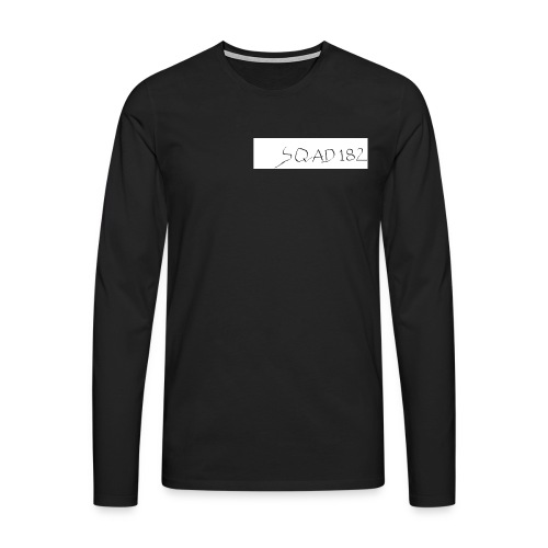 SQUAD 182 MERCH - Men's Premium Longsleeve Shirt