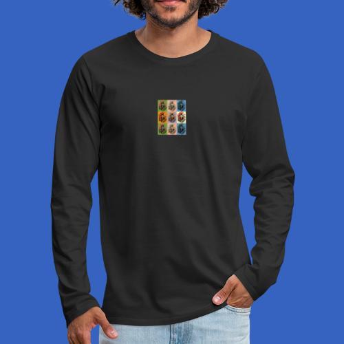 1. Mai DDR Pop Art - Männer Premium Langarmshirt