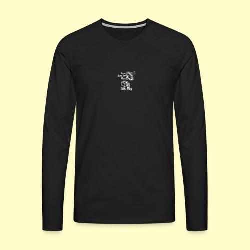 Lindy Hop Day Swing Dancing Vintage Geschenk - Männer Premium Langarmshirt