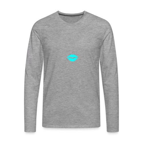 Blue kiss - Men's Premium Longsleeve Shirt