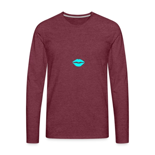 Blue kiss - Men's Premium Longsleeve Shirt