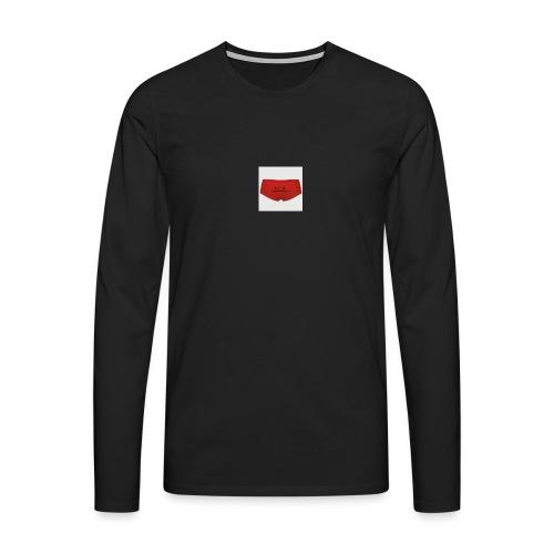 160365660 width 300 height 300 appearanceId 5 back - Herre premium T-shirt med lange ærmer