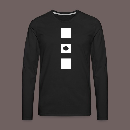 GBIGBO zjebeezjeboo - Rock - Blocs 3 - T-shirt manches longues Premium Homme