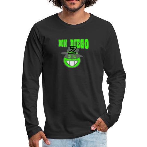 xts0381 - T-shirt manches longues Premium Homme