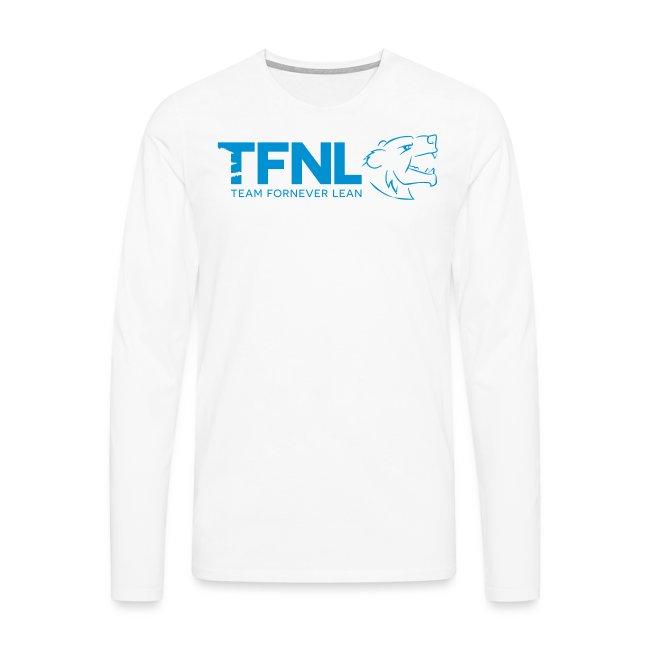 TFNL Blue Logo Longsleeve Tee
