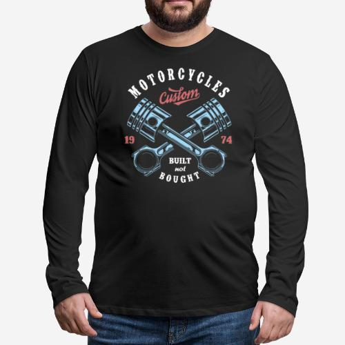 Original Custom Bike Motorräder - Männer Premium Langarmshirt