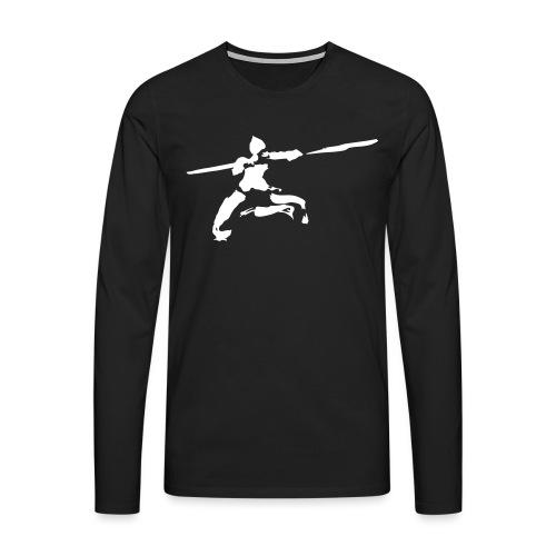 kungfu real ink - Men's Premium Longsleeve Shirt