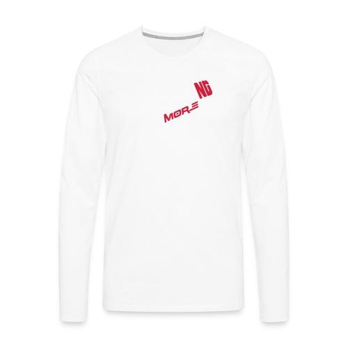 nd badg 2vari perspective - Miesten premium pitkähihainen t-paita