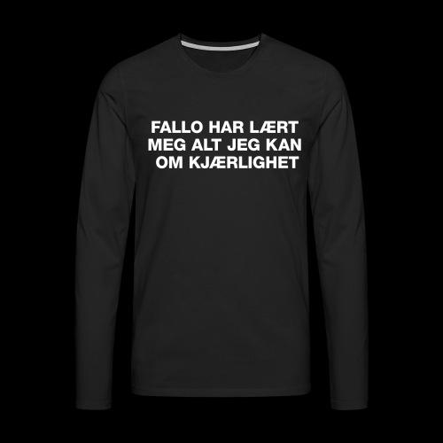 F-H-L-M-A-J-K-O-K-GENSER - Premium langermet T-skjorte for menn