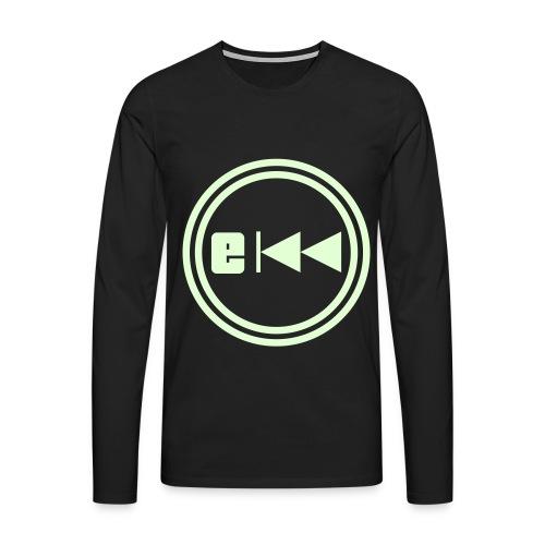 Evo-Kreis-E - Männer Premium Langarmshirt