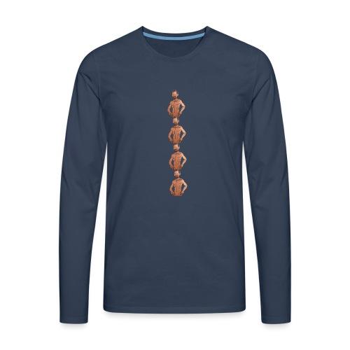 Ein Meme entfaltet sich - Männer Premium Langarmshirt