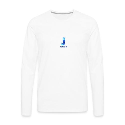JULIAN EN CO MERCH - Mannen Premium shirt met lange mouwen