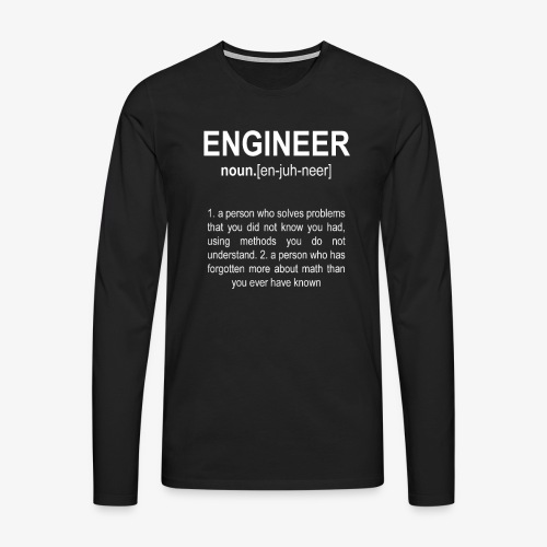 Engineer Def. 2 - T-shirt manches longues Premium Homme