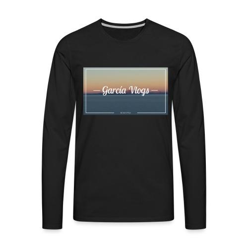 Garcíavlogs - Camiseta de manga larga premium hombre