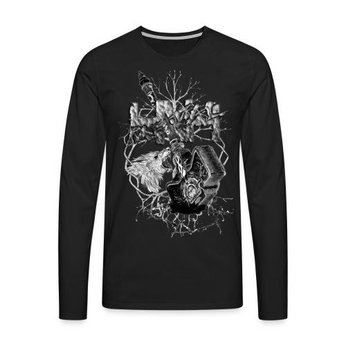 hnhpagan - T-shirt manches longues Premium Homme
