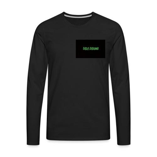 Blackout Range - Men's Premium Longsleeve Shirt