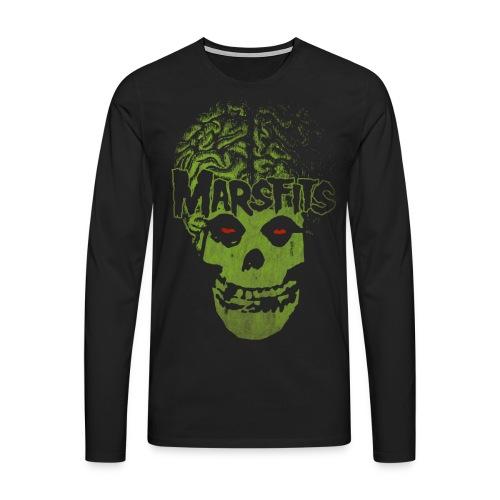 marsfits gif - Männer Premium Langarmshirt