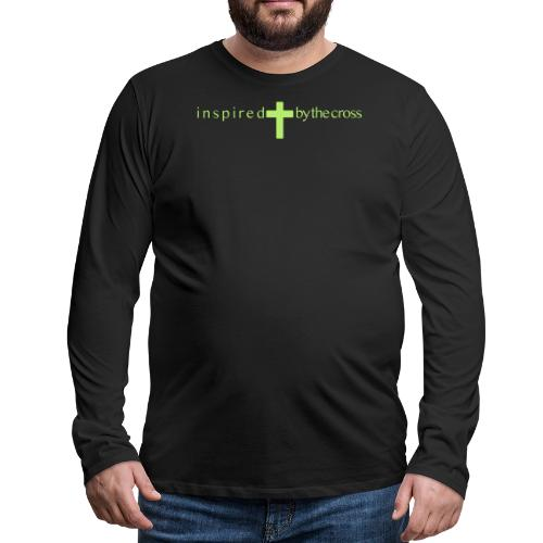 Inspired by the cross - T-shirt manches longues Premium Homme