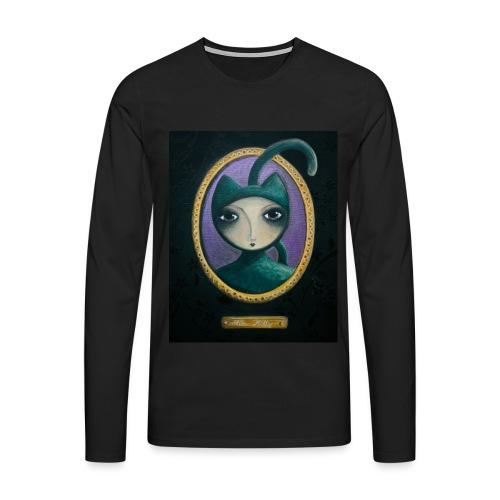 Miss Kitty t-shirt - T-shirt manches longues Premium Homme