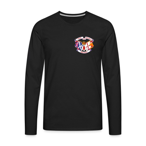 Pride of Shankill - Men's Premium Longsleeve Shirt