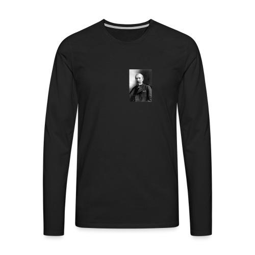 Rockerfeller - Herre premium T-shirt med lange ærmer