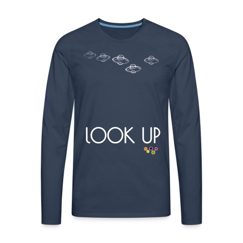 Look Up - Men's Premium Longsleeve Shirt