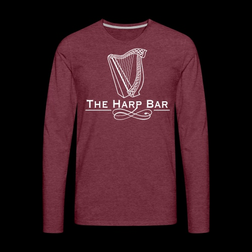 Logo The Harp Bar Paris - T-shirt manches longues Premium Homme
