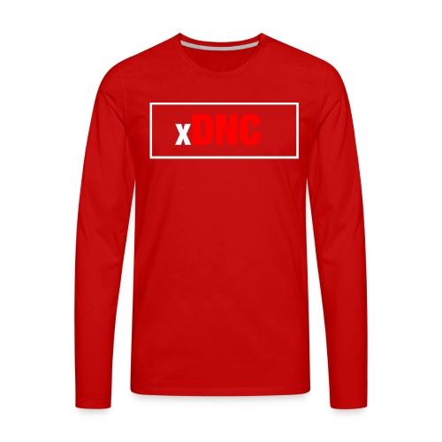 xdncgross png - Männer Premium Langarmshirt