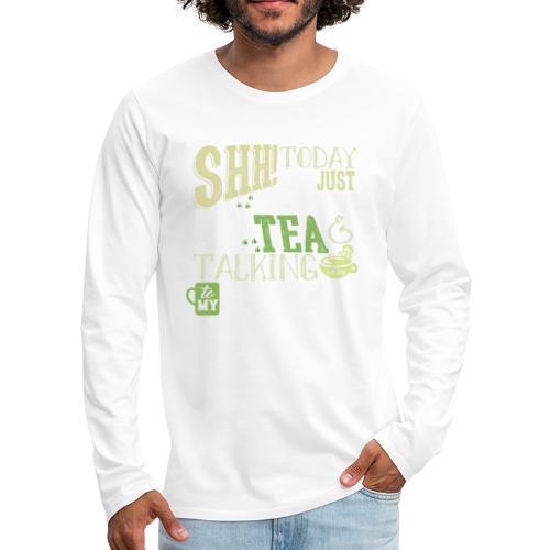SHH GSD Tea 4 - Miesten premium pitkähihainen t-paita
