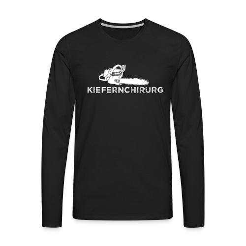 Kiefernchirurg - Männer Premium Langarmshirt