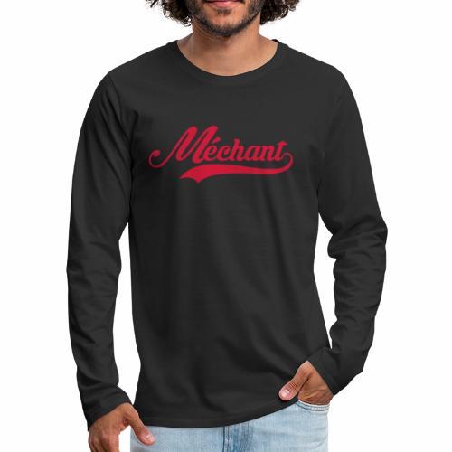 Sport 🏋🏿♂️ - T-shirt manches longues Premium Homme