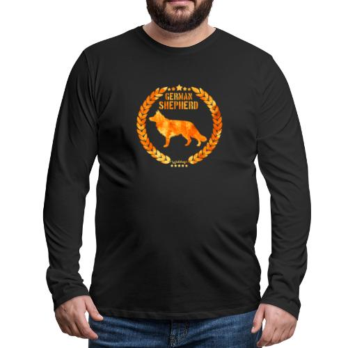 GSD Copper Army - Miesten premium pitkähihainen t-paita