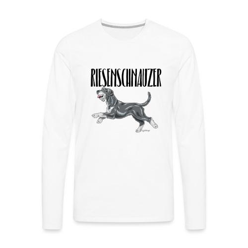 Riesenschnauzer 01 - Men's Premium Longsleeve Shirt