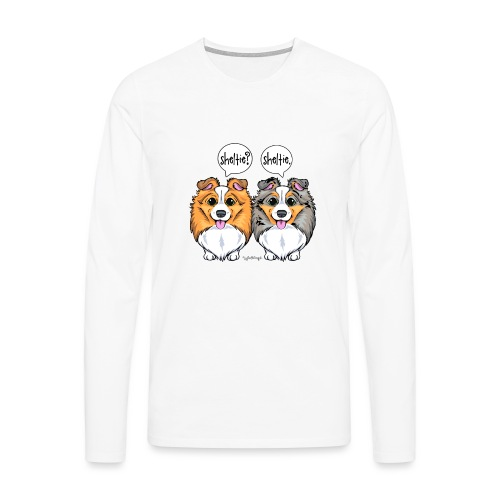 Sheltie Sheltie 3 - Men's Premium Longsleeve Shirt