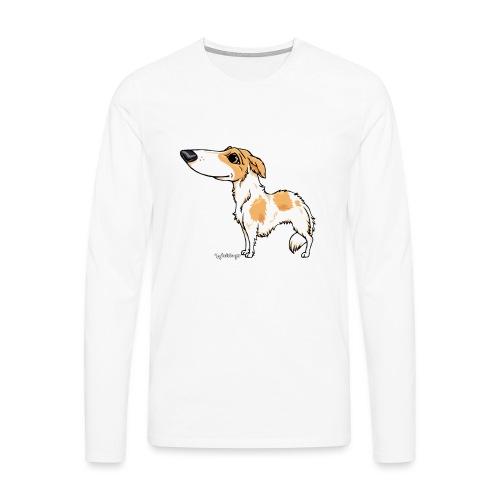 borzoi3 - Men's Premium Longsleeve Shirt
