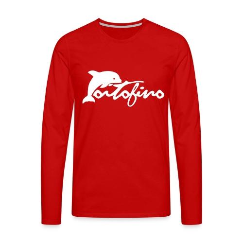 portofino 2019 WHITE - Men's Premium Longsleeve Shirt