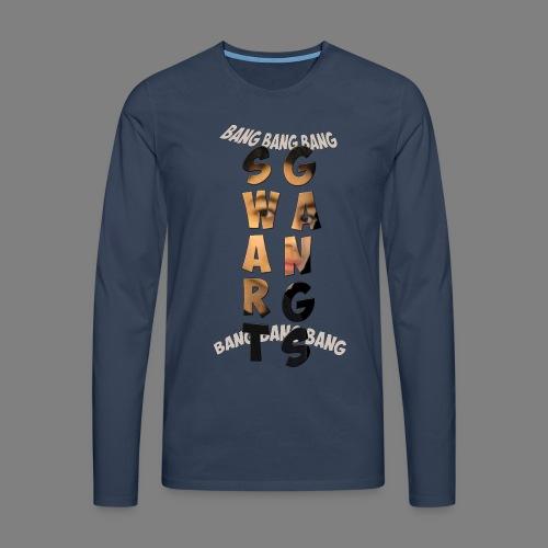 motif yassine - T-shirt manches longues Premium Homme