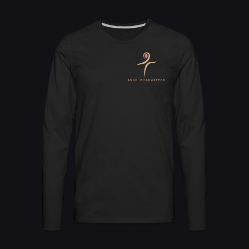 Ankh Pharmatech - Maglietta Premium a manica lunga da uomo