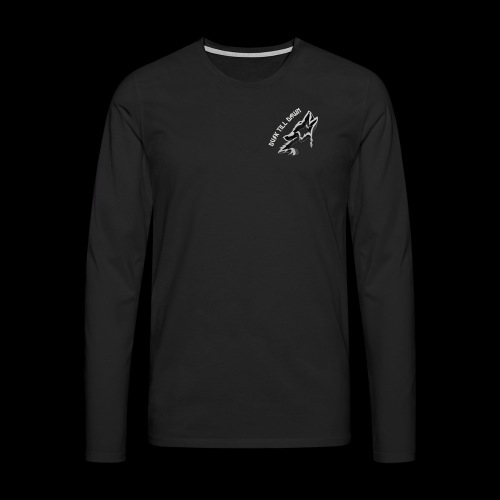Dusk Till Dawn Logo - Men's Premium Longsleeve Shirt