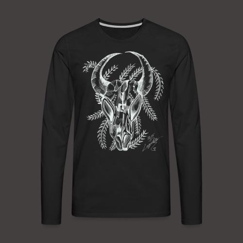 Le Taureau - T-shirt manches longues Premium Homme