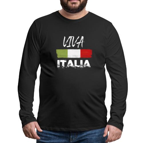 VIVA ITALIA - Men's Premium Longsleeve Shirt