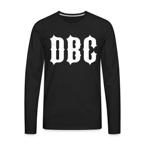 DBC + Patch V2 - Premium langermet T-skjorte for menn