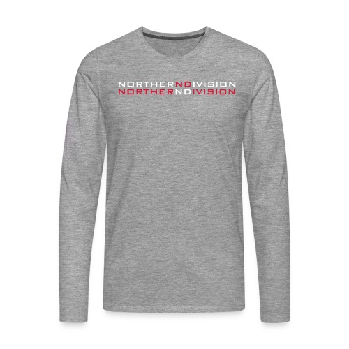 nd bankgot 2vari - Miesten premium pitkähihainen t-paita