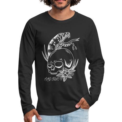 skull & snake - Men's Premium Longsleeve Shirt