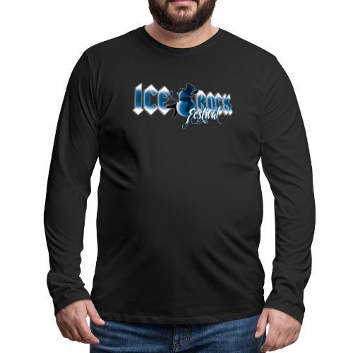 Schriftzug normal - Männer Premium Langarmshirt
