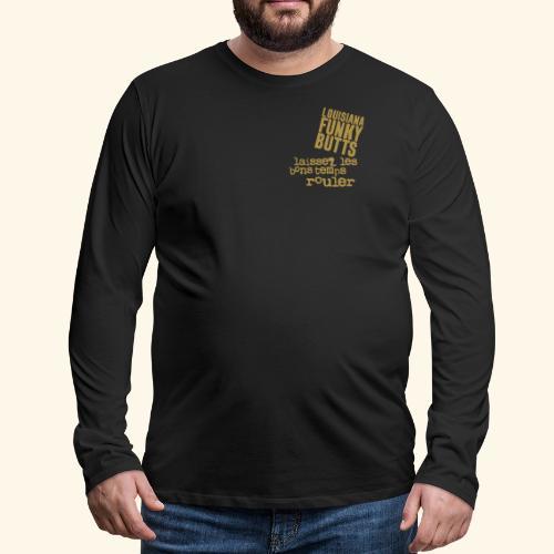 Laissez Les B-T-Rouler_2 - Männer Premium Langarmshirt