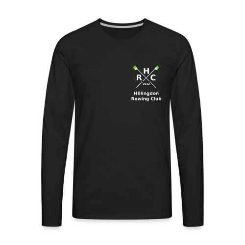 HRC Logo Inverted Brand Refresh Bitmap - Men's Premium Longsleeve Shirt