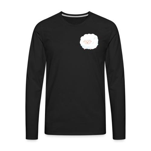 Sheep - Maglietta Premium a manica lunga da uomo