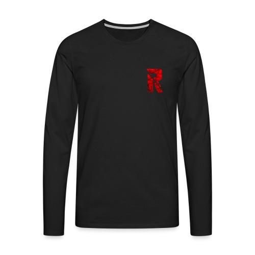 RaZe R Logo - Men's Premium Longsleeve Shirt